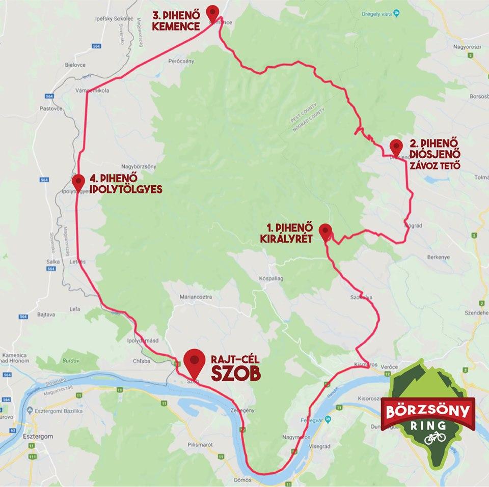 Október 5: kerékpáros körtúra a Börzsönyben