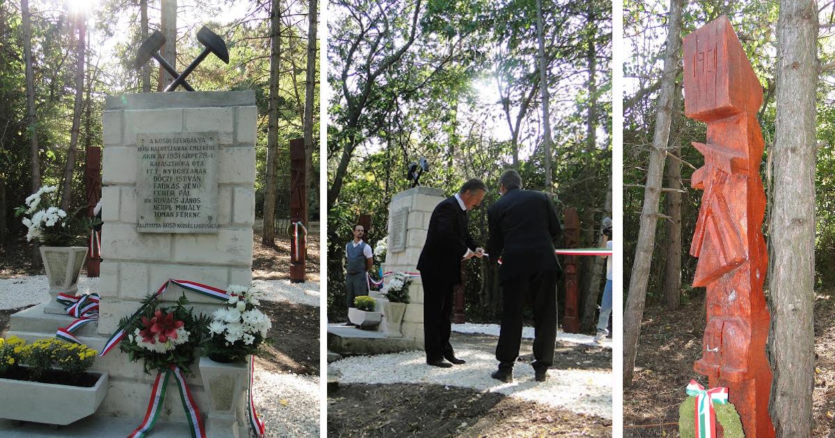 Nem térkép e táj – Emlékhely a kosdi bányászok tiszteletére