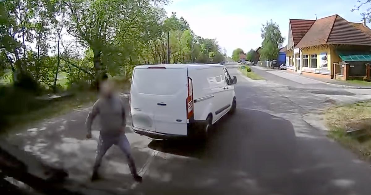 Kisbabájával autózva veszélyeztetett – a rendőrök megbilincselték (videó)