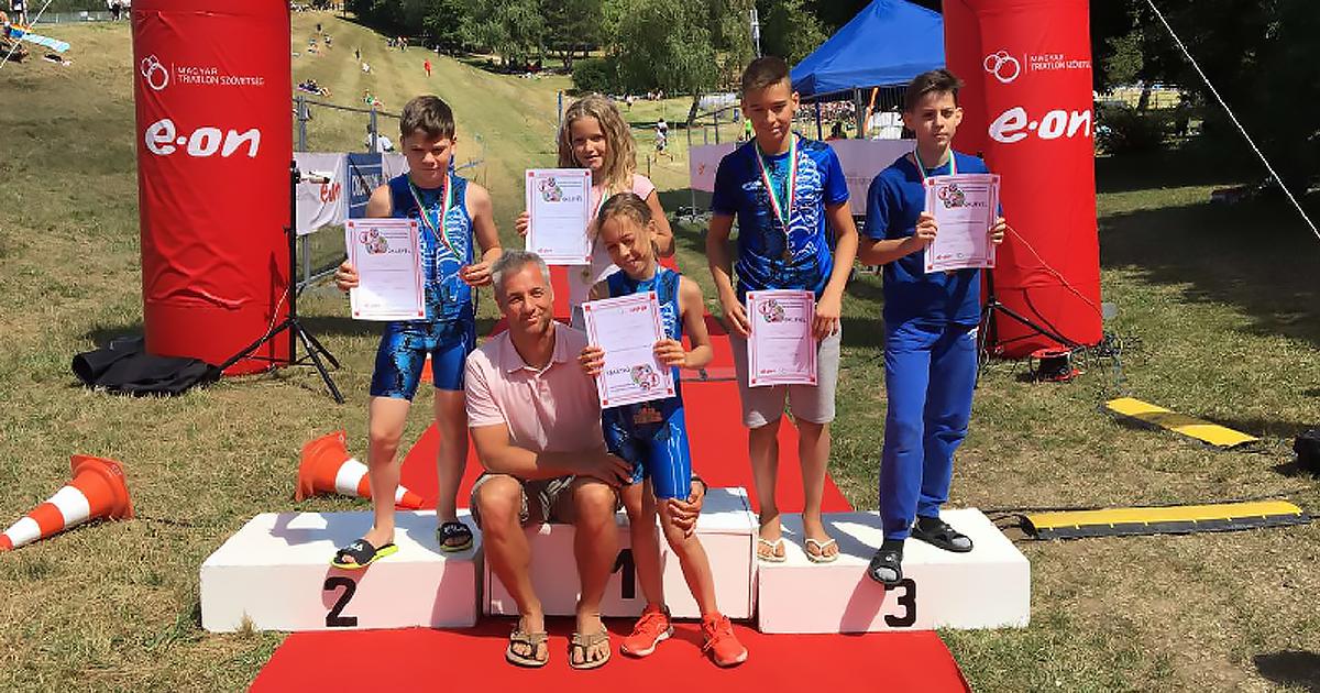A beinduló triatlonos szezon váci sikereket hozott
