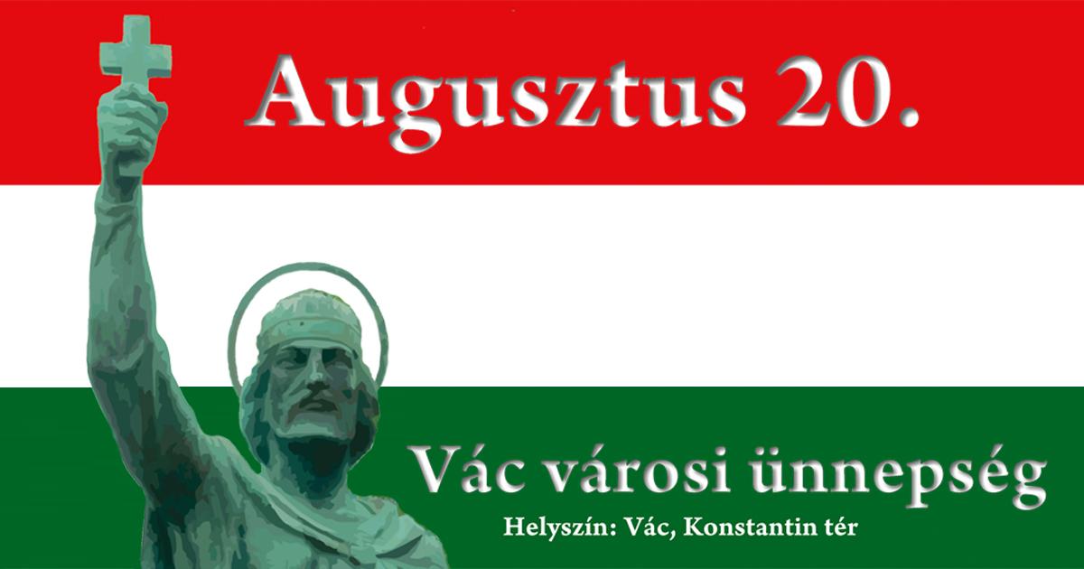 Szent István napi rendezvények Vácott