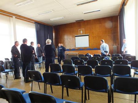 Közterület felügyelők értekezlete volt a Váci Rendőrkapitányságon