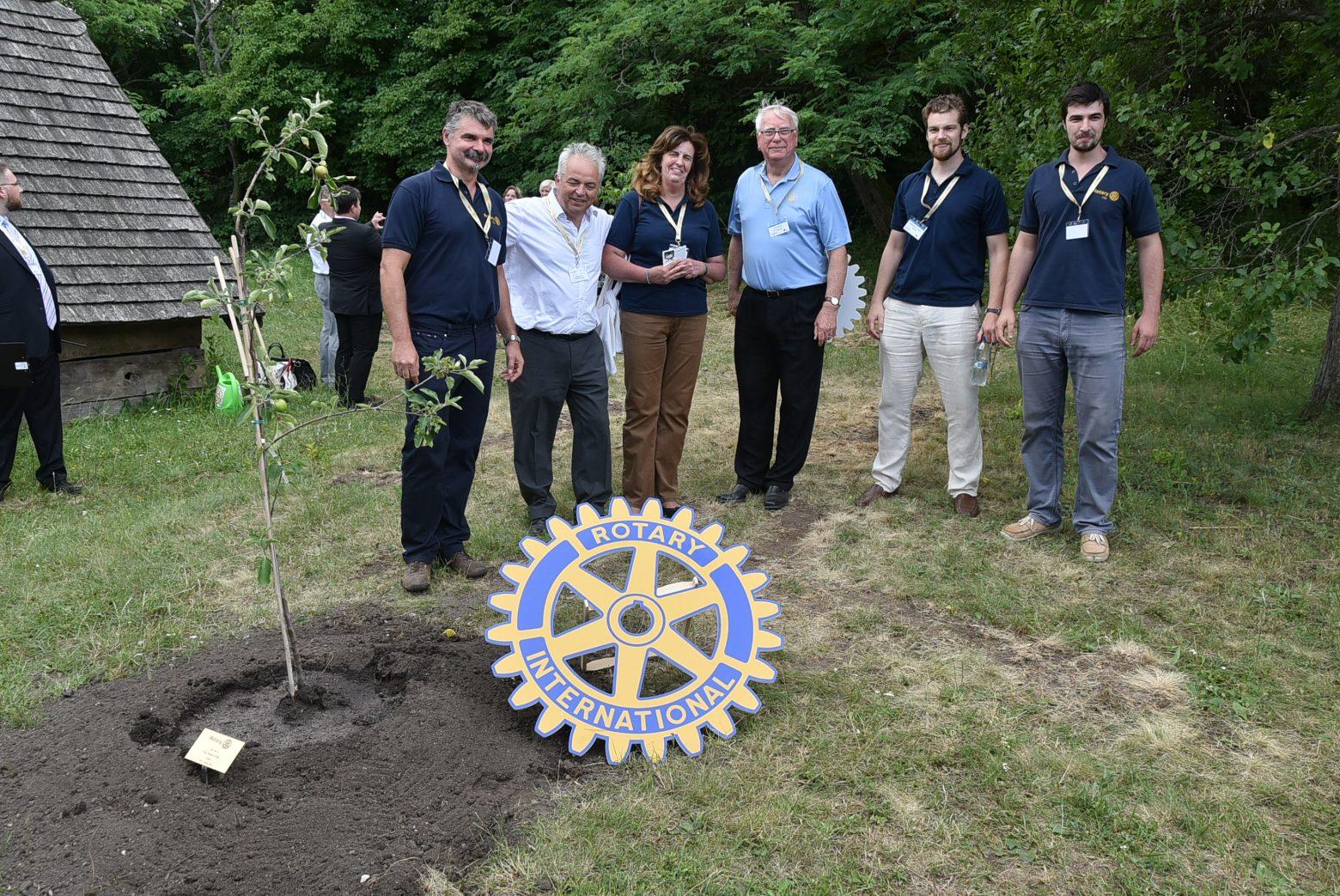 A 15 éves Váci Rotary Club találkozása a Rotary világelnökével