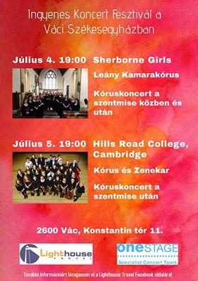 Ingyenes Koncert Fesztivál a váci Székesegyházban
