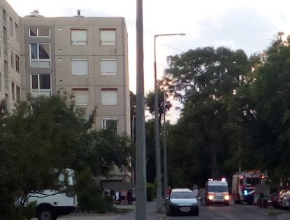 Tűzhelyen felejtett olaj okozott riadalmat Vácon, a Kötő utcában