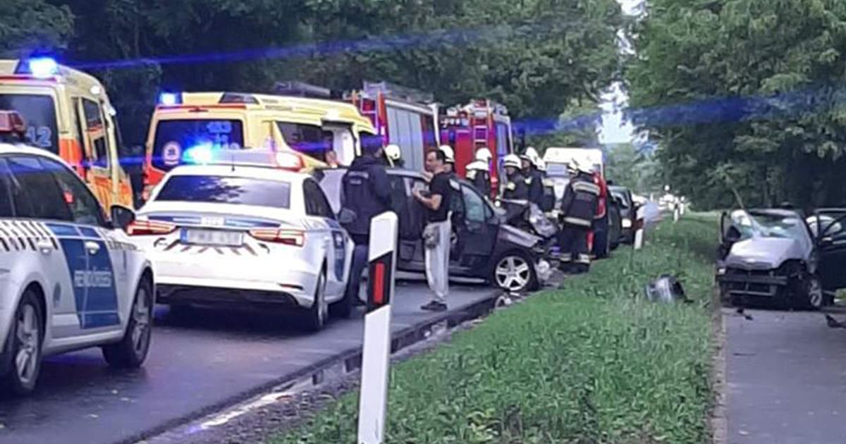 FRISSÍTÉS – Vác Verőce között nagy baleset!!! Teljes útzár várható!