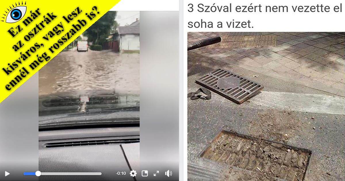 Ez már az osztrák kisváros…? – Tüzes vita a vasárnapi vizes égszakadás után