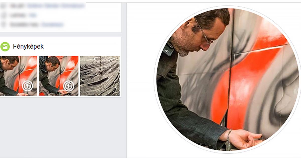 Leszedte Zöldi Péter a Facebook-profilképéről az obszcén jelet, de…