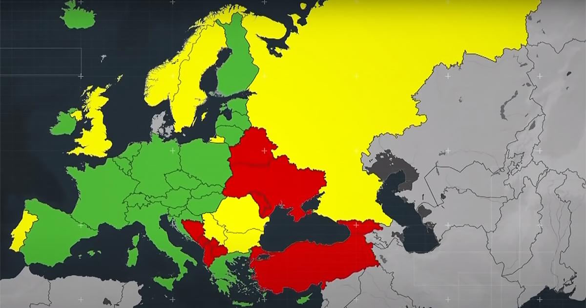 Három kategóriába sorolja a világ országait a kormány koronavírus-fertőzöttség szerint
