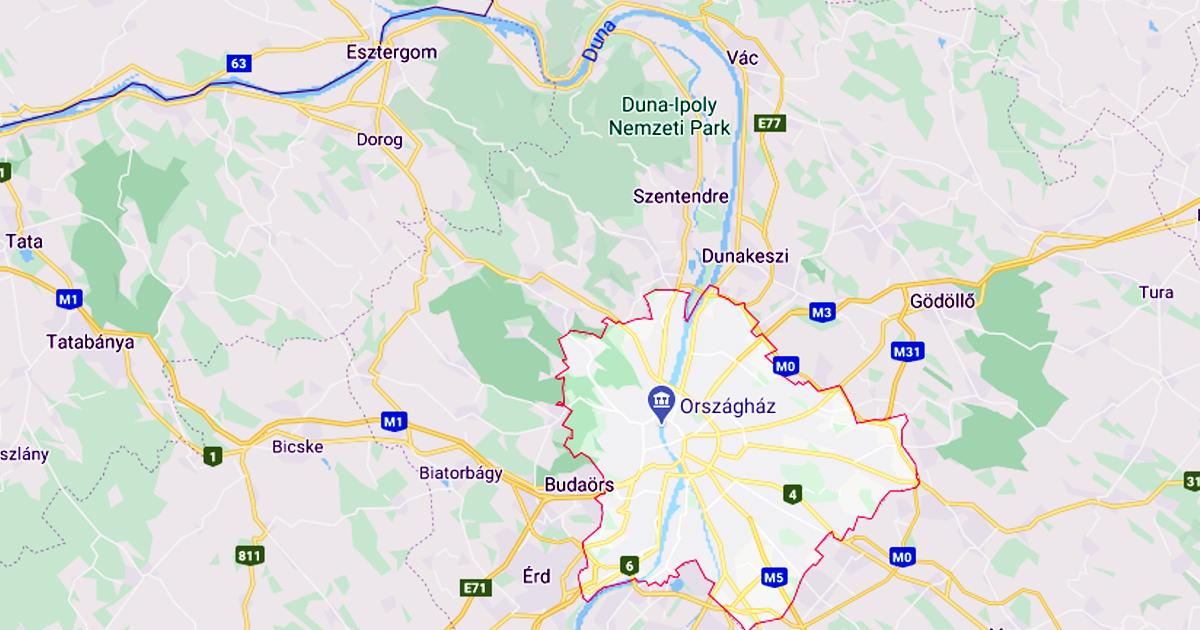 Érdekes problémafelvetés: Vác Budapest hányadik kerülete?
