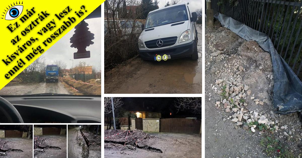 Ez már az osztrák kisváros…? – Balesetveszélyes helyzet a Törökhegyen!