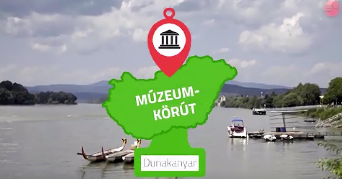 Memento Mori kiállítást és több más dunakanyari tárlatot mutat be egy új turisztikai kisfilm