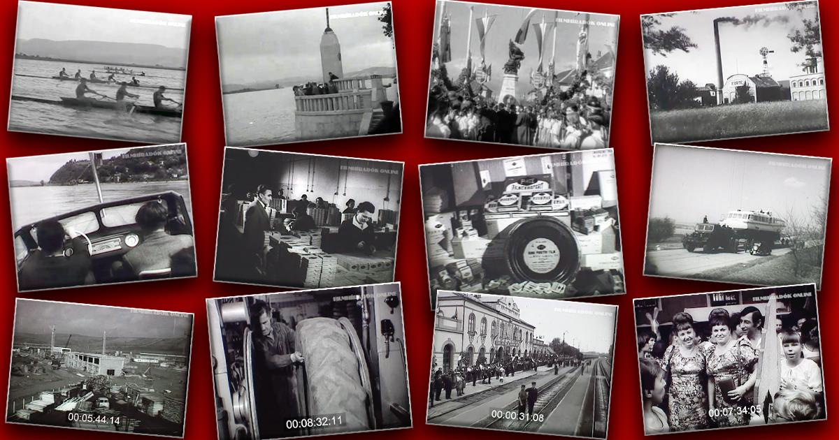 VÁCI TÖRTÉNETEK A FILMHÍRADÓK TÜKRÉBEN (1924-1979)