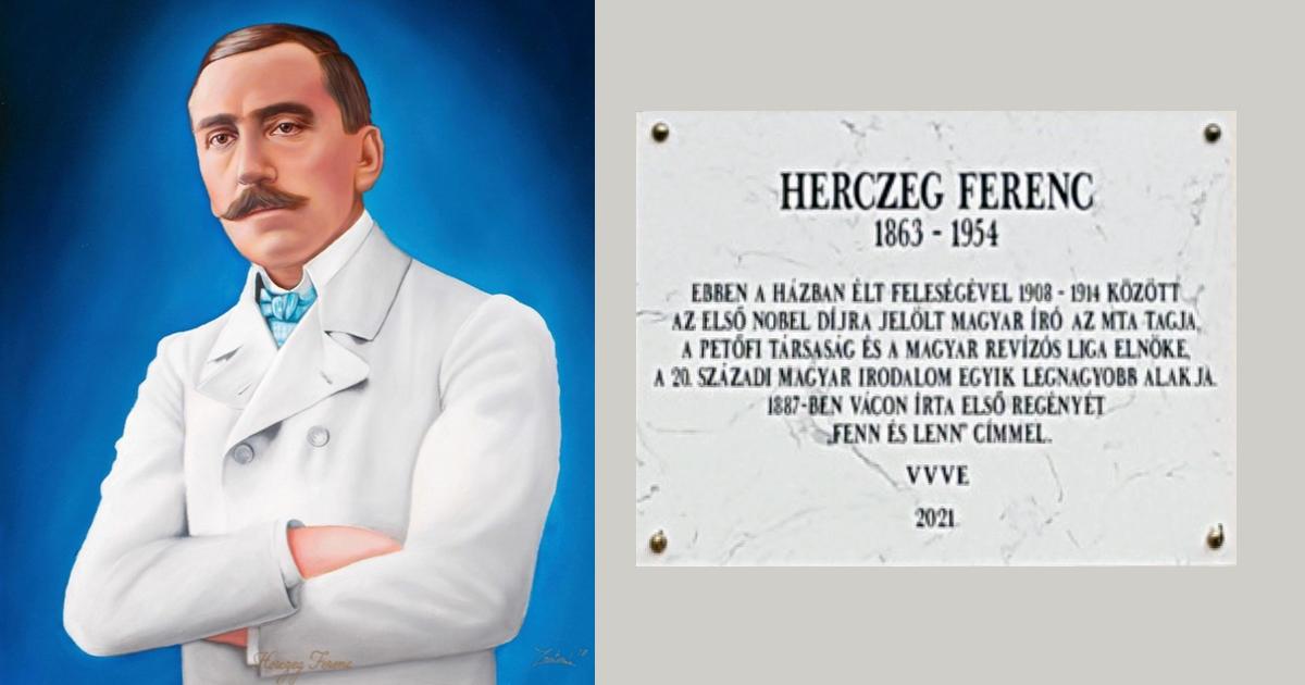 HERCZEG FERENC ÍRÓ (1863-1954) ÉLETE ÉS VÁCI EMLÉKEZETE